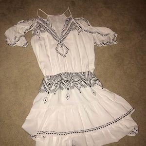Parker Cold shoulder dress